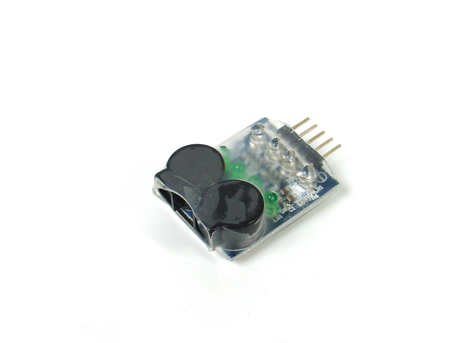 On Board Lipo Low Voltage Alarm 2s 4s Circuit