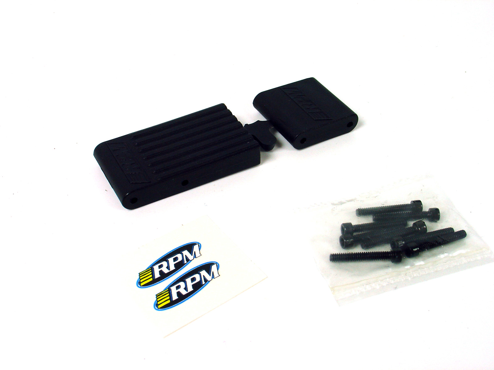 RPM Traxxas T-Maxx / E-Maxx Bulkhead Braces (Black) - RPM 80152