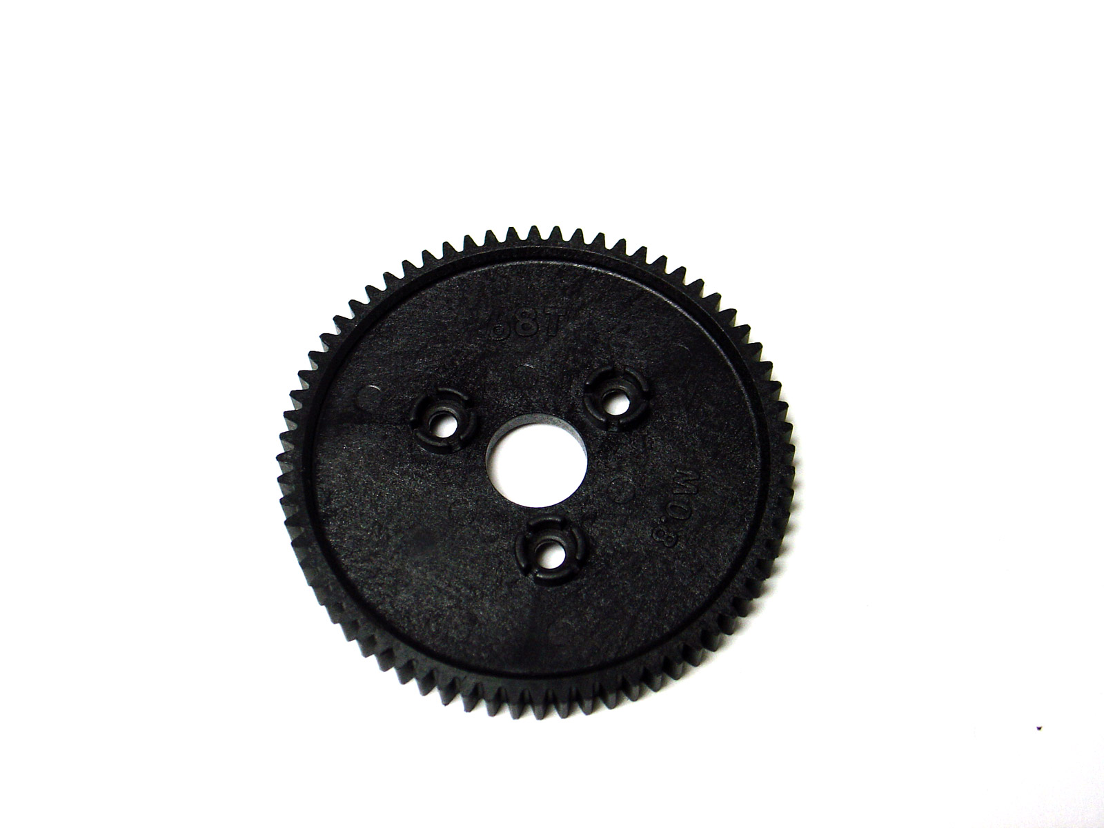 The standard plastic 68 tooth spur gear with 0 8 metric pitch for the Traxxas Summit