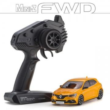 1/27 Kyosho MINI-Z FWD Renault Megane RS Tonic orange - 32421OR