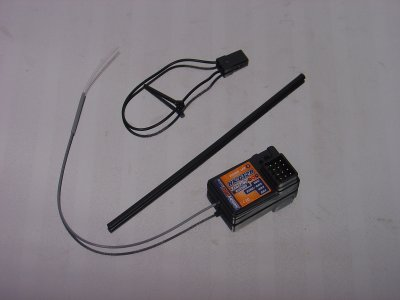 HK GT-2 Receiver (2.4GHz/3ch Rx) for use with HK-GT2 Transmitter
