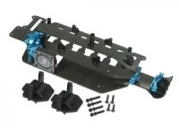 3racing Graphite Chassis Conversion Kit For RC18