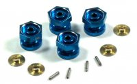 RC18 Aluminum Drive Adaptor With Pins & Washers (0mm)
