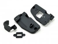 R33117-TMA505167 - Robitronic Hurricane and Team Magic E6 Trooper Switch Mount and Rear Nylon Cover