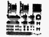 Tamiya 51002 - TT-01A Parts (Gear Box And Upright)