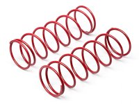 Hot Bodies 67452 - Big Bore Shock Spring Red 68mm 81gf - 2 Pcs
