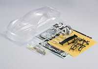 1/10 KillerBody KB48011 - Corvette GT2 Clear Body Kit 190mm