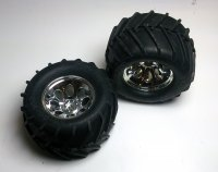 Kyosho MA051 - Mad Force Kruiser Mounted Tyres - 2 Pcs