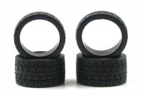 Kyosho MZW38-20 - Racing Radial Wide Tire #20 - 4 Pcs