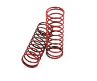 R33064-TM505109 - Robitronic Hurricane and Team Magic E6 Trooper Red Shock Spring - 2 Pcs
