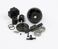 R33077-TM505123 - Robitronic Hurricane and Team Magic E6 Trooper Complete Center Spool Kit