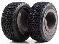Kyosho TRT122 - DRX High Grip Rally Tires with Inserts - 2 Pcs
