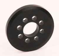 Robitronic R06010-07 - Spare Rubber Wheel 76mm for Robitronic Starterbox