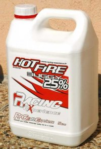 Racing Experience Hot Fire EURO 25% Nitro Off Road Fuel - 5L