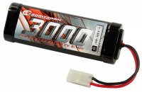 3000mAh 7.2V Robitronic NiMH Stick Pack with Tamiya Connector