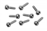Kyosho 1284 - 5.8mm Pillow Ball Silver - 8 Pcs