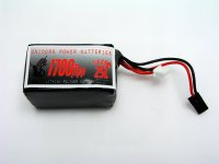 1700mAh Unicorn 2S2P 6.6V LiFe Battery Hump Pack