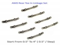 Atomic Racing AWD169-CB - AWD Delrin Toe In Linkage Set