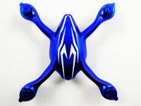 Shadow Breaker DRN004-BL - Main Body for Mini X6 Met. Blue w/White Stripes
