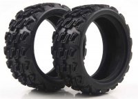 Kyosho FAT101 - Fazer Kobra Rally Block Tire - 2 Pcs