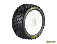 Louise L-T31142SI - T-PIRATE Soft Compound Tyre With Insert 1:8 Truggy - 2 Pcs