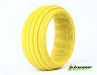 Louise L-T3159 - Yellow Groove Closed Cell Insert for 1:8 Buggy - 2 Pcs