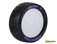 Louise L-T3178SWKF - E-PHANTOM Soft Compound 4WD Front Tire With 12mm Hex For 1:10 Buggy - 2 Pcs