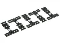 3Racing MR3-05/WO - Mini-Z MR-03 Graphite Plate MM/LM - 5 Pcs