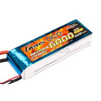 6000mAh Gens Ace 35-70C 3S1P 11.1V Lipo Battery Pack