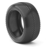 AKA Gridiron Medium Compound Truggy Tires with Inserts - 14103M