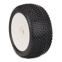 AKA EVO I-BEAM Soft Pre-Mounted Tires with White Rims - 14111SRW