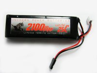 2100mAh Unicorn 6.6V LiFe Battery Straight Pack