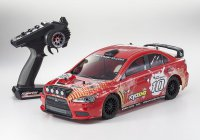 1/10 Kyosho Fazer VE Lancer EVO Red Readyset (RTR, 2.4GHz)