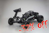 1/7 2WD Kyosho Scorpion XXL GP Black - 31873T2B