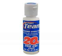 Team Associated 5421 - Silicon Shock Oil 20wt / 200 CST (59ml)