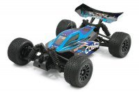 1/18 FTX Colt 4WD Brushed Mini Buggy RTR, 2.4GHz - Blue/Black