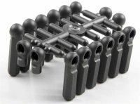 Kyosho 97021H - 4.8mm Hard Ball End Set - 10 Pcs