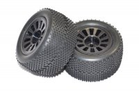 FTX FTX6887 - Colt 1/18 Buggy Mounted Tyres - 2Pcs
