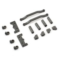 FTX FTX7413 - IBEX Servo Maunt and Retainer and Steering Rods