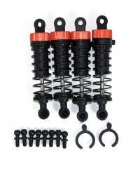 Helion HLNA0012 - ront & Rear Shock Set With Ball Studs for Animus