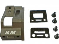 KM Racing hard Coated Carbon Motor Mount Cover for MM - KMMR03-02CH