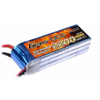 2200mAh Gens Ace 25-50C 3S1P 7.4V Lipo Battery for DJI Phantom