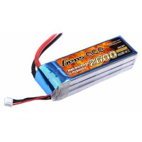 2600mAh Gens Ace 25-50C 3S1P 11.1V Lipo Battery Pack