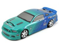 Hpi 2013 Ford Mustang Micro RS4 Falken Tire Drift 1/18 RTR - HPI 111230