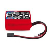 2500Mah nVision 7.4v LiPo RX Battery Hump Pack
