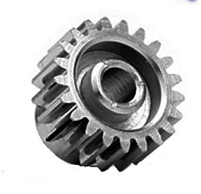 19T / 48P / 3.17mm bore Steel Pinion Gear