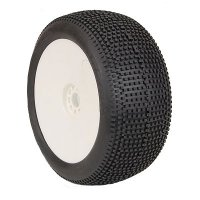 AKA EVO IMPACT Soft Pre-Mounted Tires with White Rims - 14117SRW