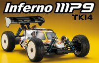 1/ 8 Racing Buggy Kyosho Inferno MP9 TKI4 Kit - 33001B
