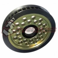 3Racing 3RAC-3PY/38 - T38 Aluminum Diff. Pulley Gear