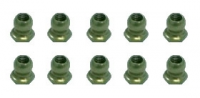 3Racing 3RAC-BS48H4/TE - 7075 Teflon Coated 4.8MM Hex Ball Stud L=4 - 10 Pcs